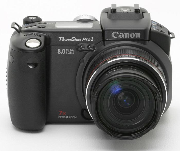Немножко потестировал камеру Canon Power Shot Pro 1.
